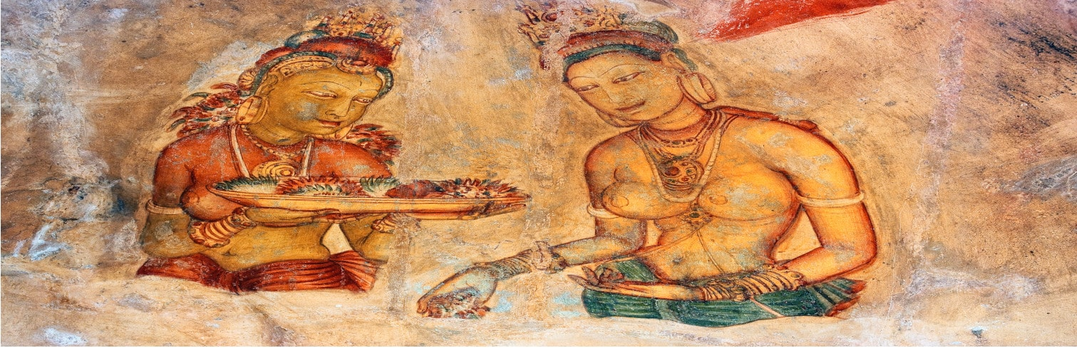 Sigiriya painting-min