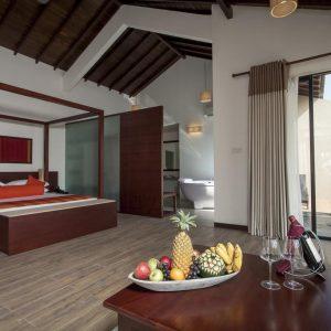 The Calm Resort & Spa suite