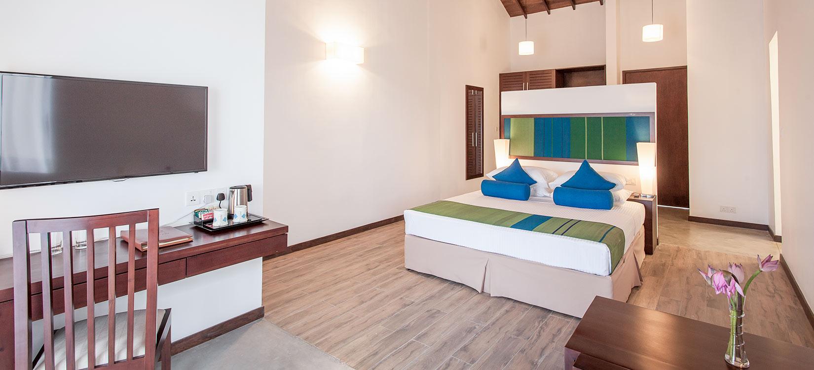 The Calm Resort deluxe room
